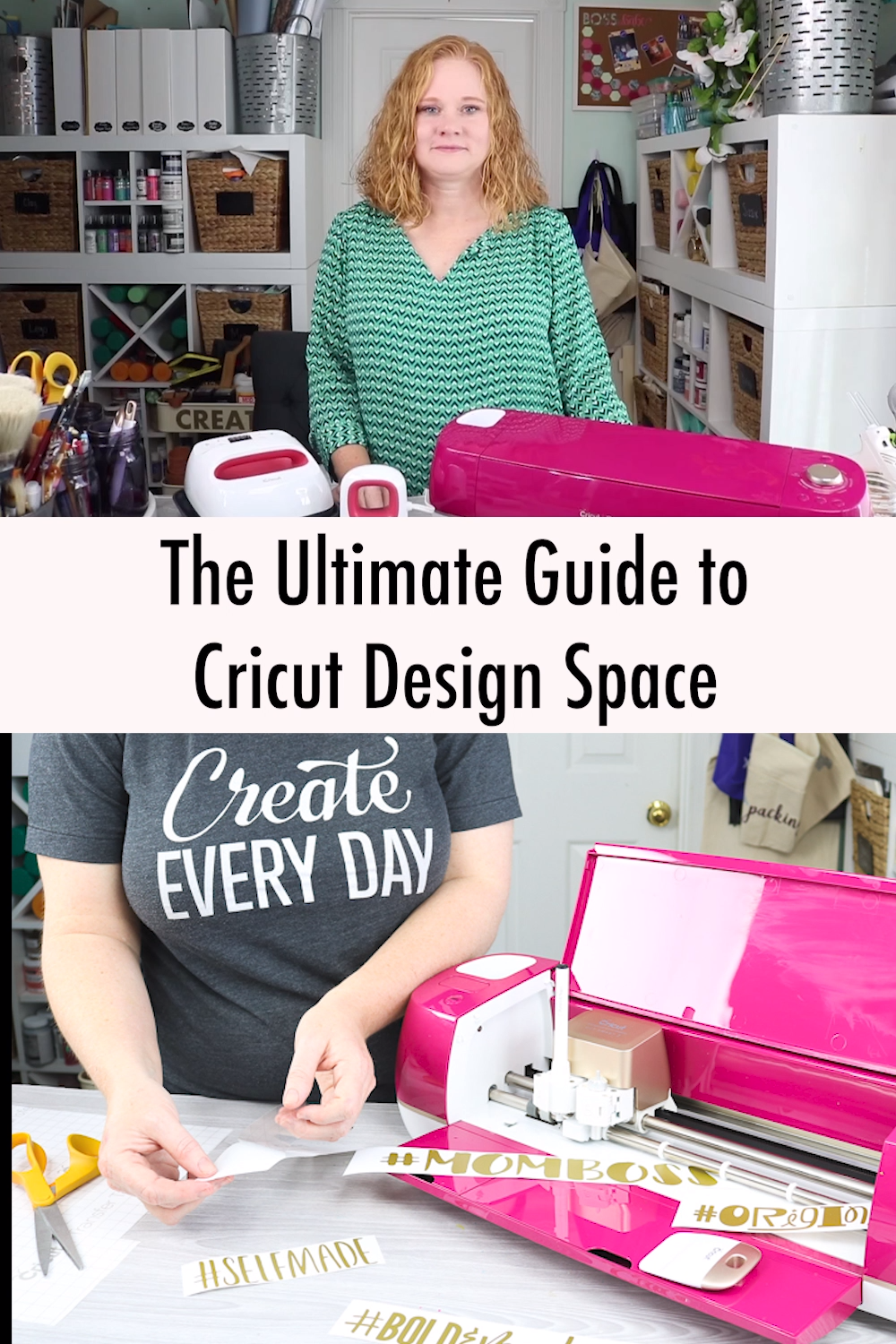 Are you new to Cricut? We have a free printable guide that will walk you through everything you need to know about Cricut Design Space. Then you can follow along with our YouTube channel to learn even more! #cricut #cricutcreated #cricutmade #cricutdesignspace #designspace #cricutexplore #cricutmaker #cricutmachine #cricuttutorial #cricuthowto
