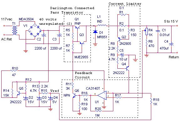 This Is The Circuit Diagram Of 12v 10a Switching Power Supply The Circuit Shown In The Sche Power Supply Circuit Circuit Diagram Switched Mode Power Supply