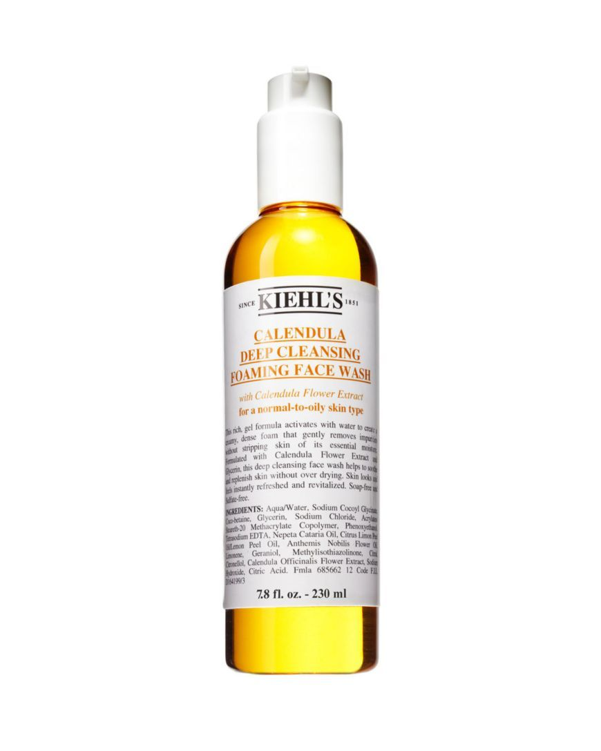 Kiehl S Since 1851 Calendula Deep Cleansing Foaming Face Wash Beauty Cosmetics Allure Award Winners Bloomingdale S Foaming Face Wash Moisturizing Face Wash Deep Cleansing
