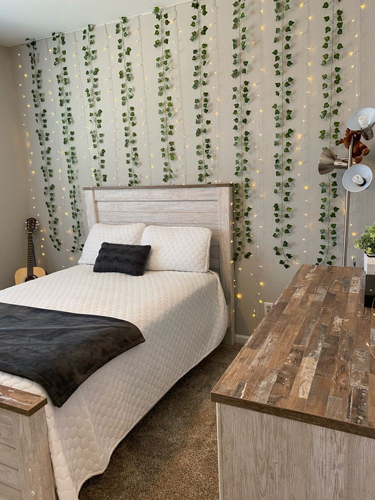 LED Wall Vine Lights in 2020 | Study room decor, Room ...