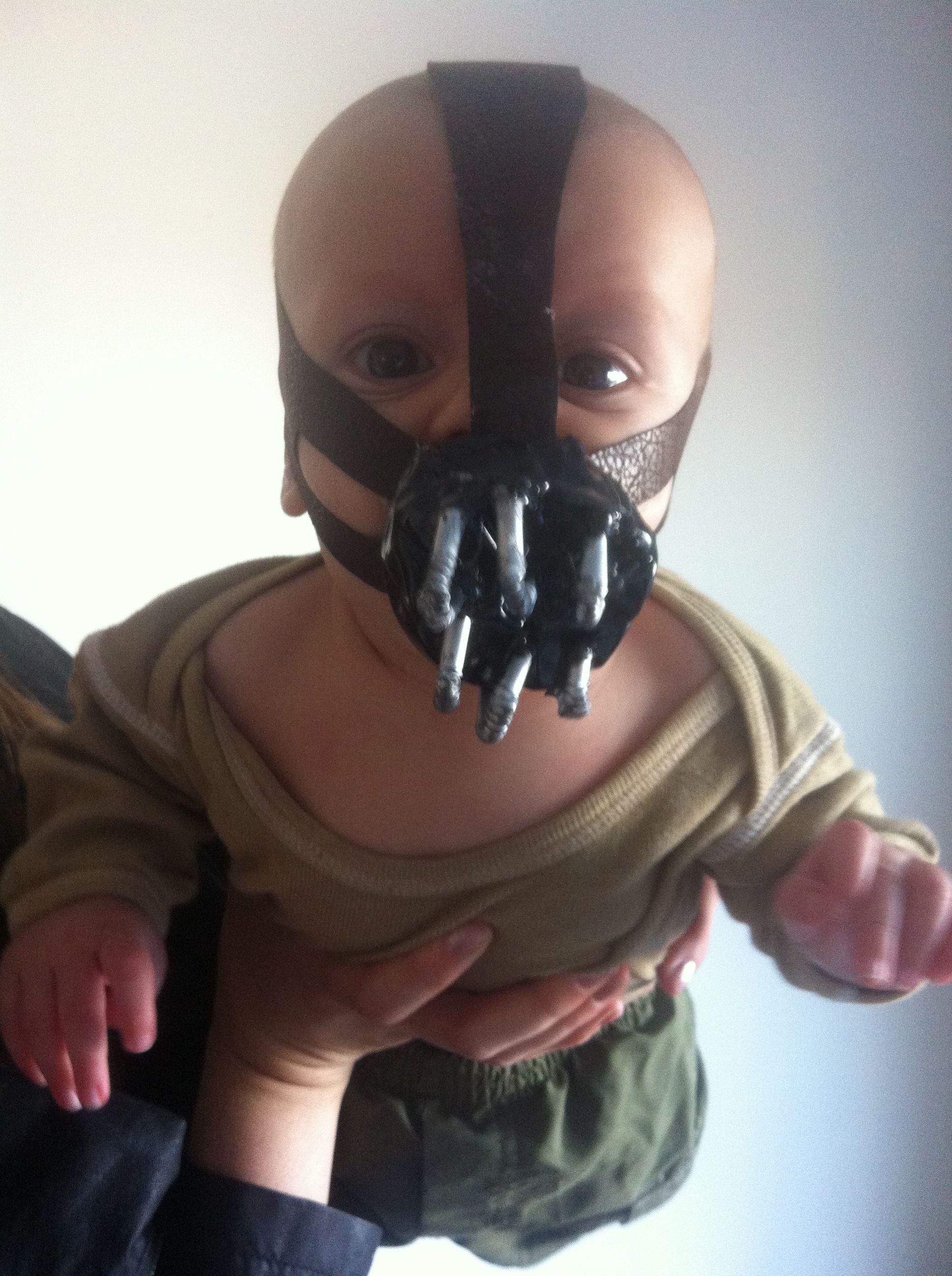 Baby Bane Halloween costume & Baby Bane Halloween costume | Halloween | Pinterest | Halloween ...