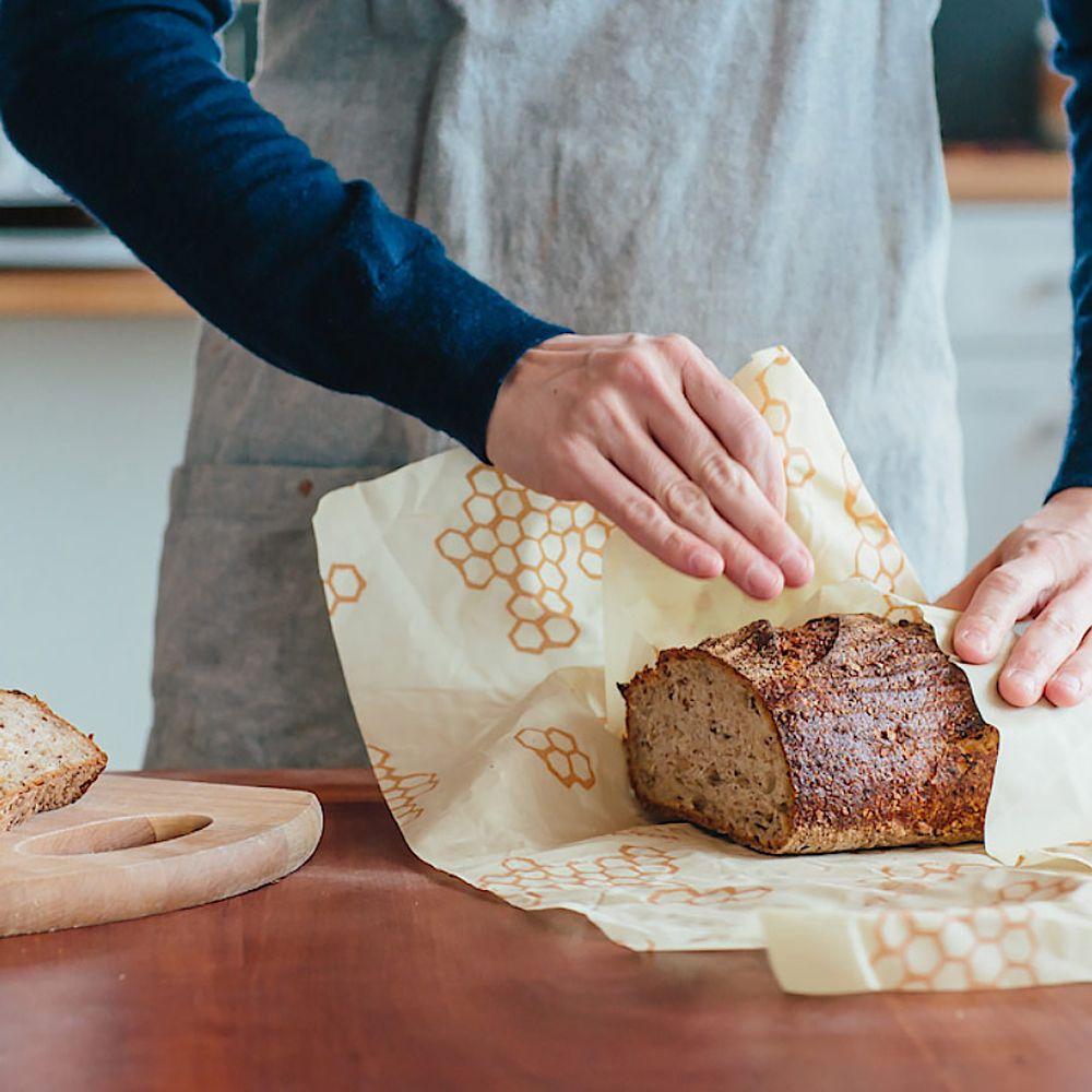 Beeswax Bread Wrap #beeswaxwraps