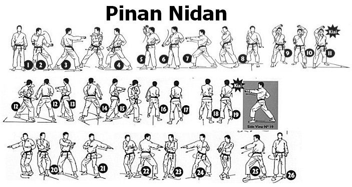 Image result for pinan nidan wado ryu