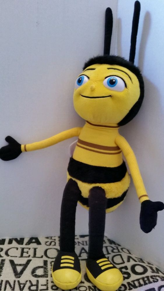 14 Quot 2007 Barry Bumblebee Bee Movie Dreamworks Stuffed