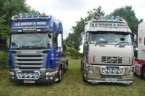 scania vs volvo | european trucks | pinterest | volvo
