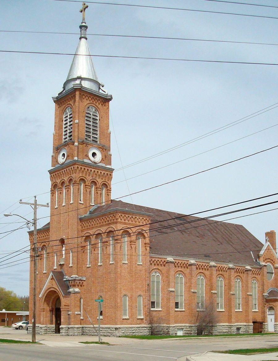 St Peter Catholic Church Oconto WI