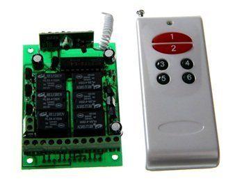 12 YU-06A+YU1000-6 DC Wireless Remote Control Switch Security System by QLPD. $42.16. This wireless remote control switch security system is ideal for home appliance.