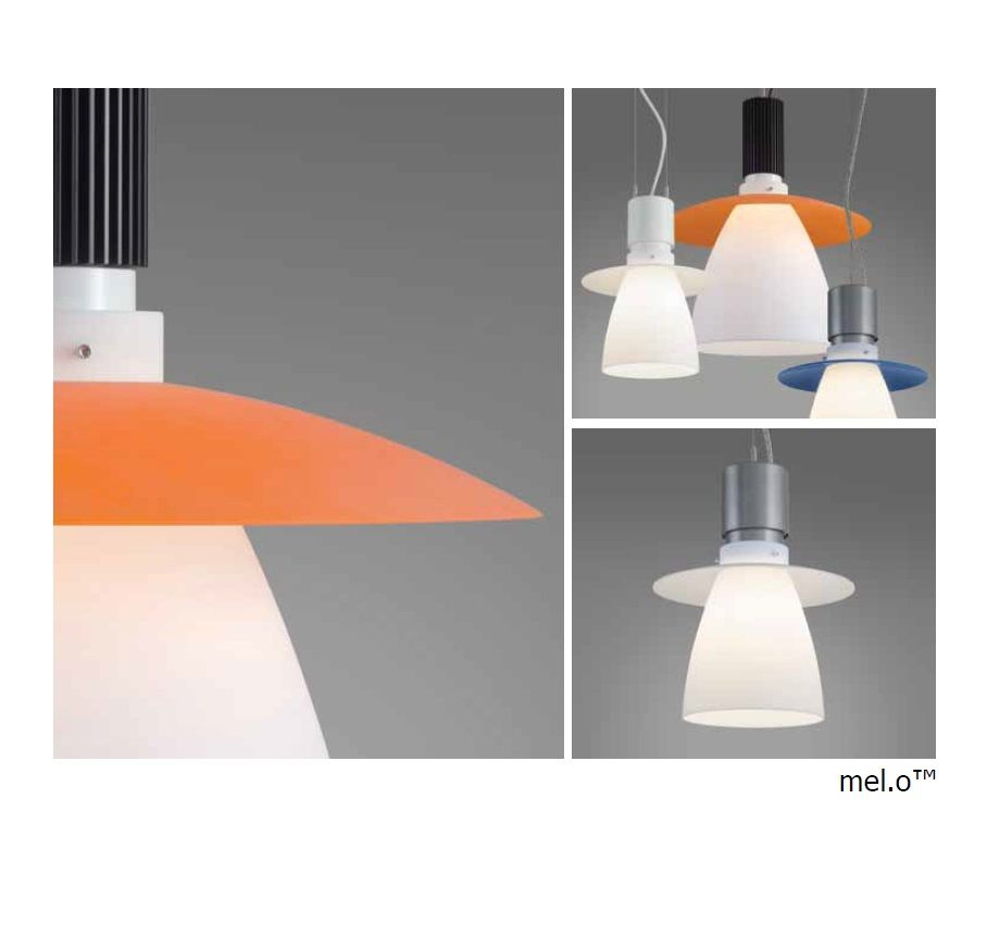 The mel o by impact architectural lighting a fluorescent and led pendant light fixture