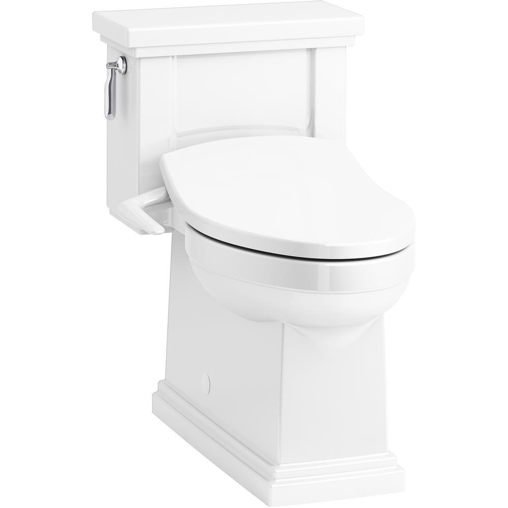 Kohler Tresham 1 Piece 1 28 Gpf Single Flush Elongated Toilet With