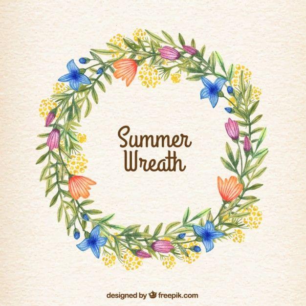 Pin by Laura Fernández Asensio on Fondos | Summer wreath ...