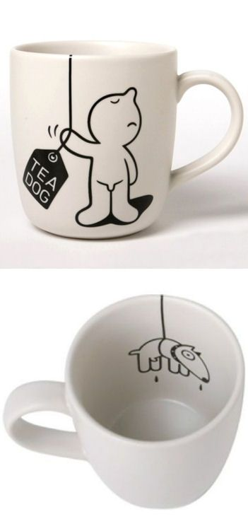 D. Dog Tea Mug // SO cUte!