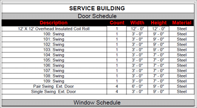 Quantity Take Off Sheets Construction Estimating Software Construction Cost Doors