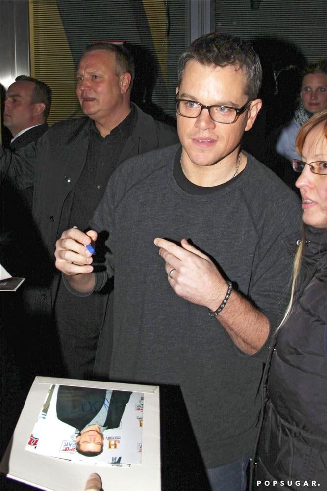 Elysium Trailer Premiere With Matt Damon | Photos | POPSUGAR Celebrity
