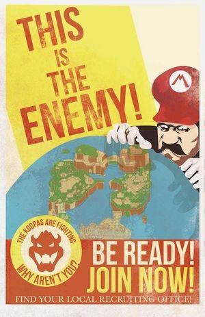 Mario Propaganda Set — Fro Design Company