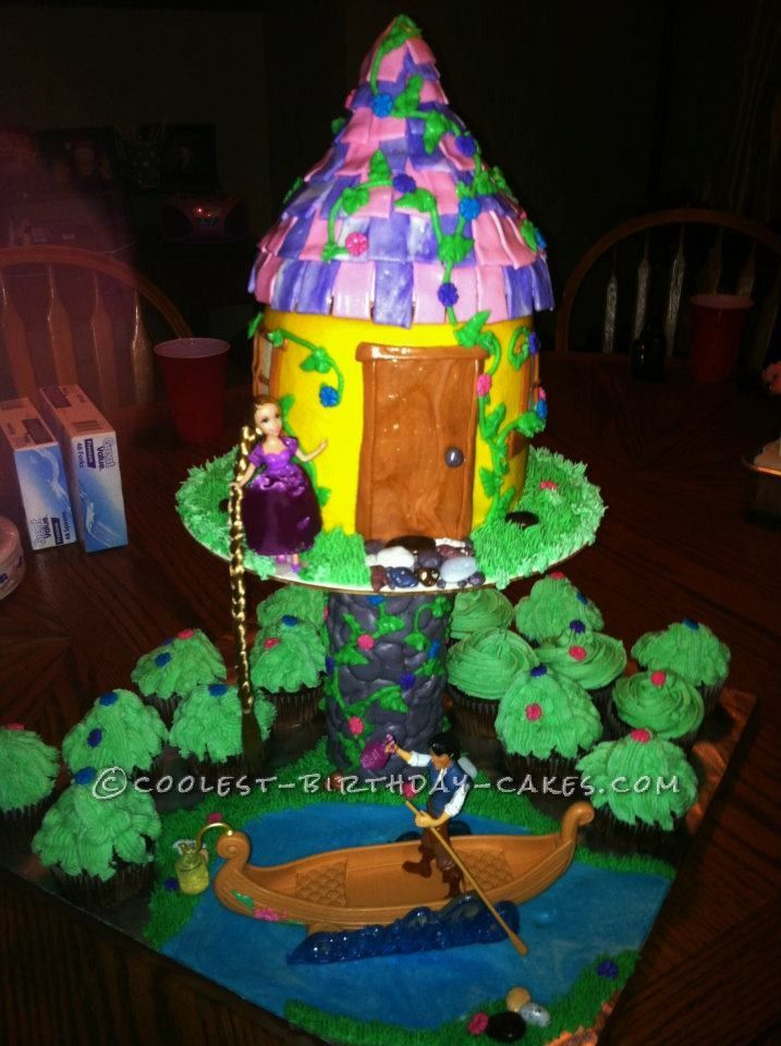 Coolest Rapunzel Birthday Cake For 7 Year Old Girl This Website Is The Pinterest Of Ideas