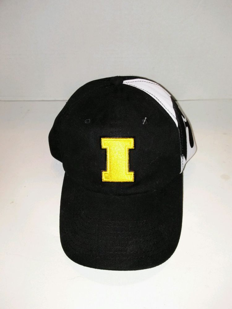 Iowa university hat cap hawkeyes starter rare sample nwt