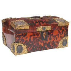 Decorative Document Boxes Swedish 18Th Century Tortoiseshell And Brass Document Box  Boxes