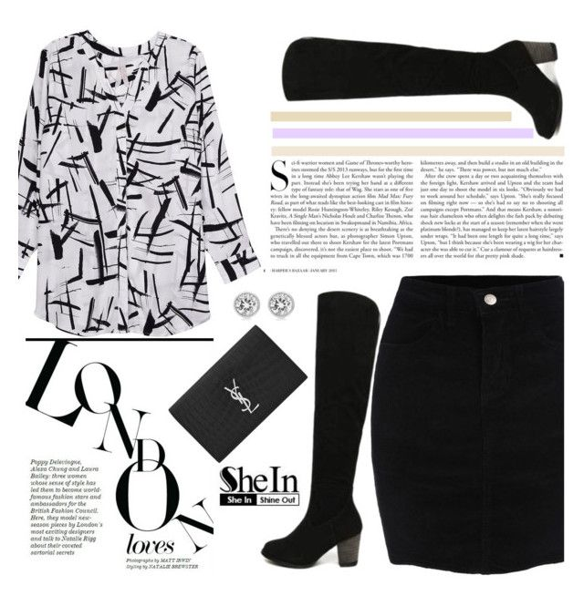 """""""Shein 4/10"""" by mell-2405 ❤ liked on Polyvore featuring Kershaw, Melissa McCarthy Seven7, Yves Saint Laurent, Michael Kors, women's clothing, women, female, woman, misses and juniors"""