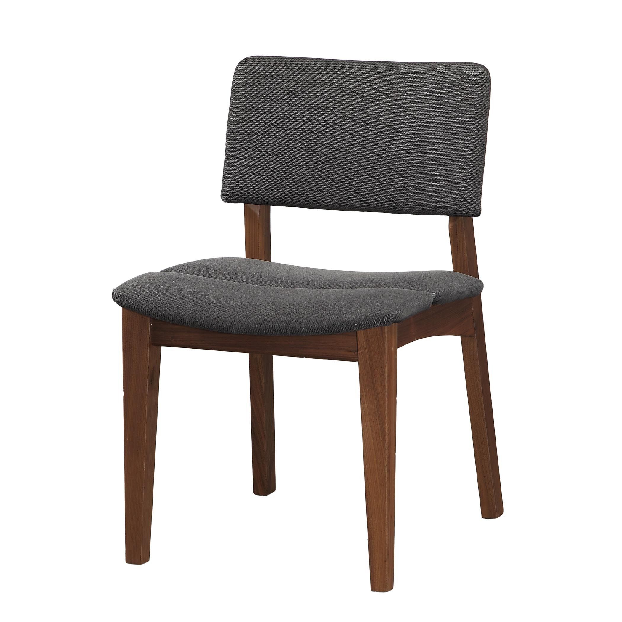 Aurelle Home Solid American Walnut Dining Chairs