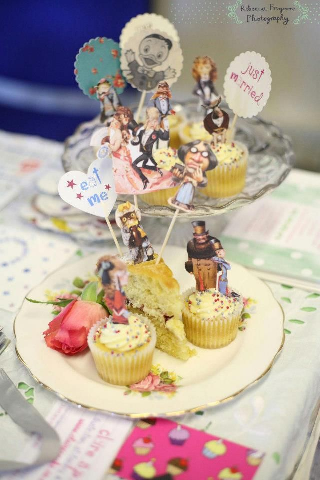 Cool cake toppers by Claire Spake Design Quirky wedding stationery ...