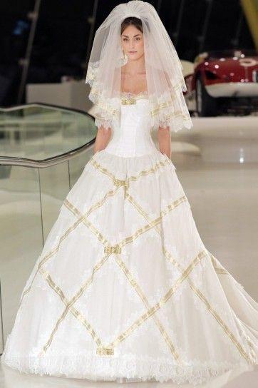 Delle France Wedding Dress