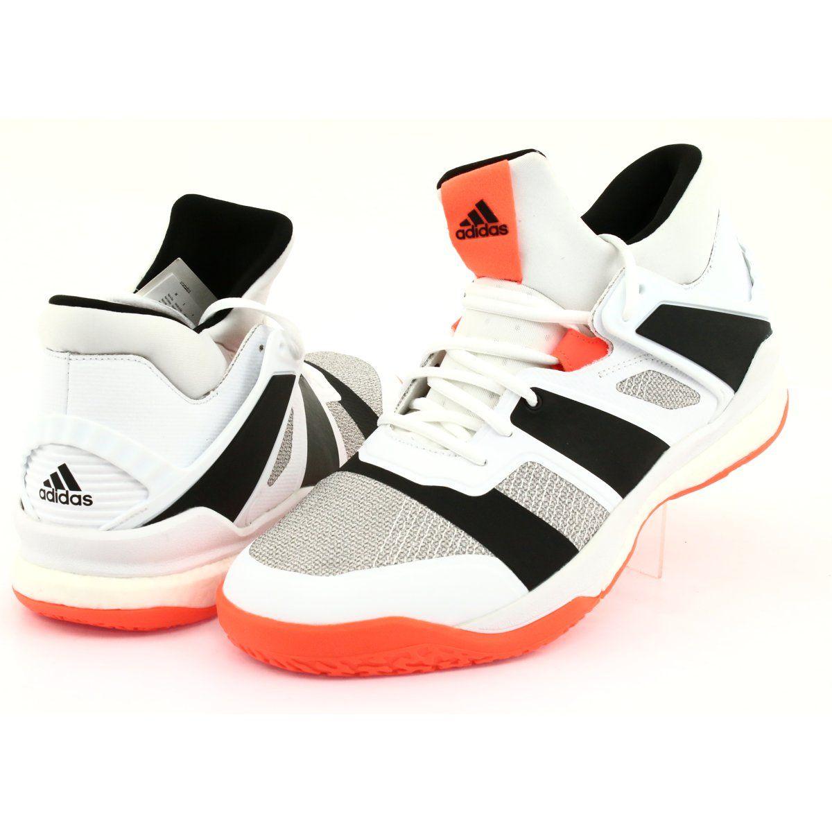 Buty adidas Stabil X Mid M F33827 białe | Buty, Buty adidas