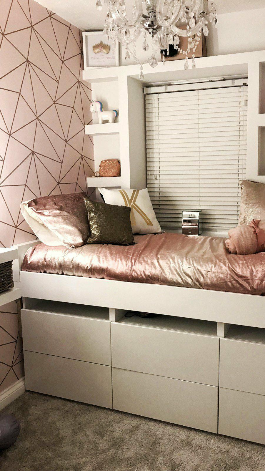 I Love Wallpaper Zara Shimmer Metallic Wallpaper Soft Pink Rose Gold Ilw980111 The Perfect Way Girls Bedroom Wallpaper Rose Gold Bedroom Girl Bedroom Walls