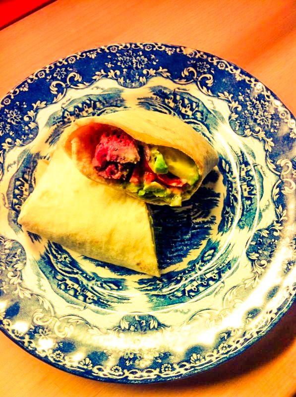 The Mexican Steak Burger