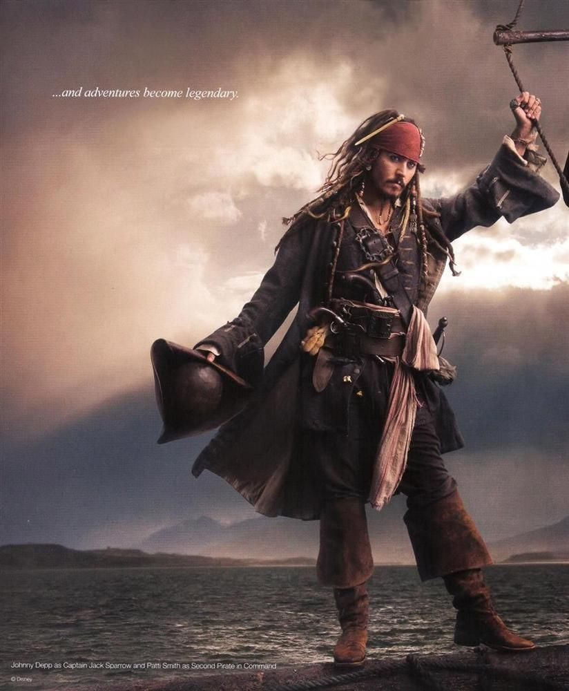 Pirates Of The Caribbean Wallpaper Hd: *CAPTAIN JACK SPARROW ~ Pirates Of The Caribbean