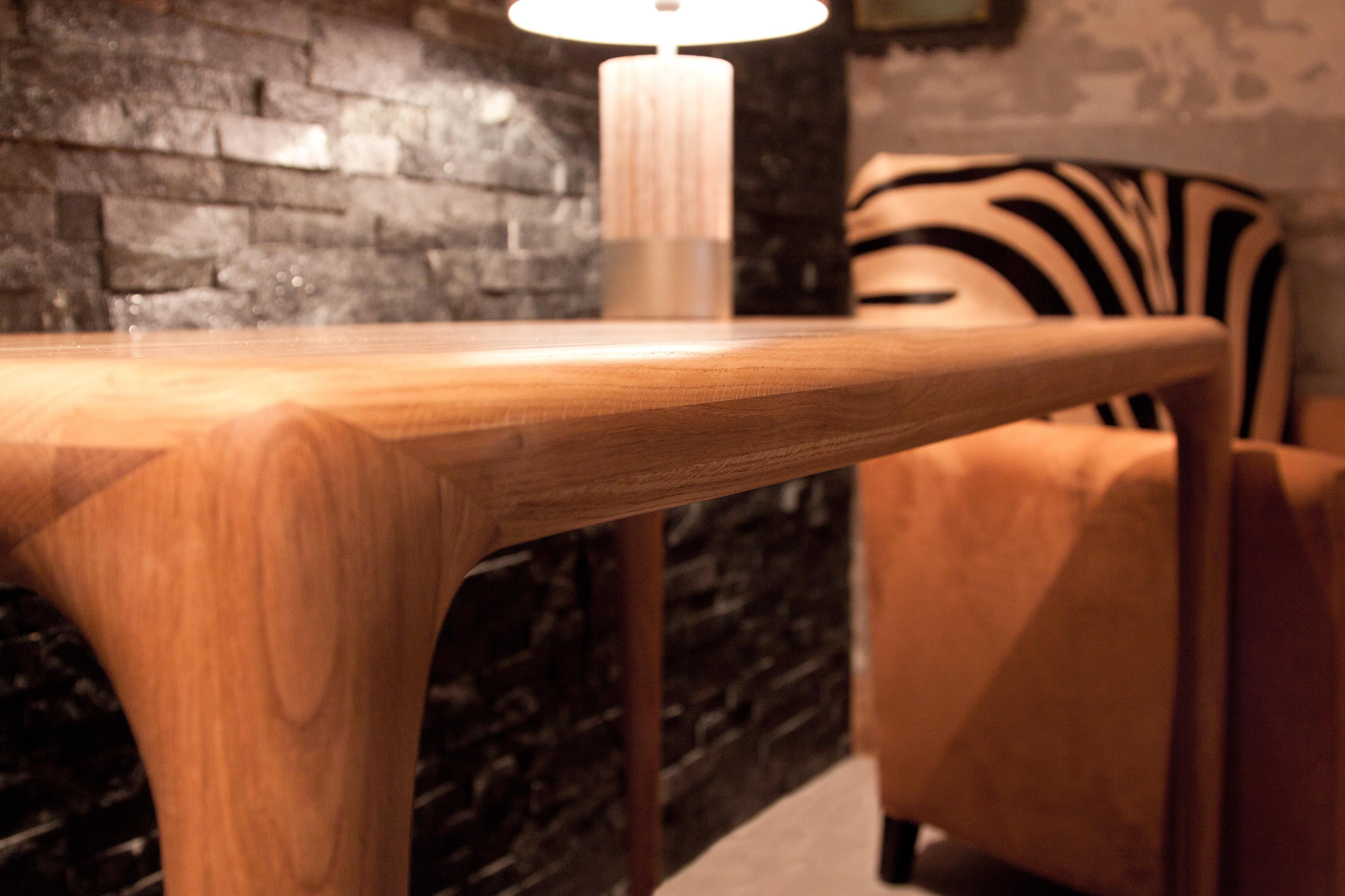Artisan LATUS Table in Oak Available at Nina s House on the