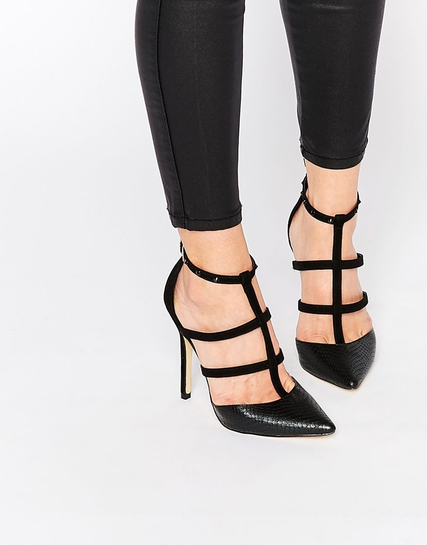 Lovelovelove This Lipsy Cora Caged Heeled Shoes A L L