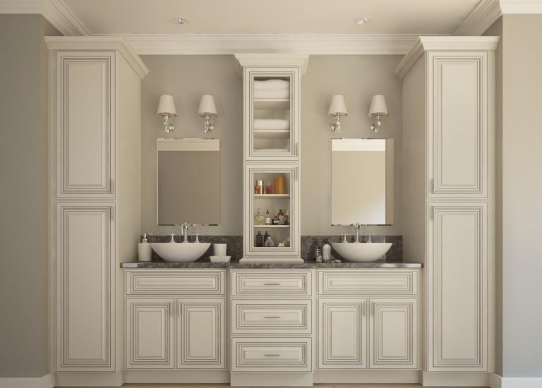 26+ Bathroom vanity cabinets rta inspiration