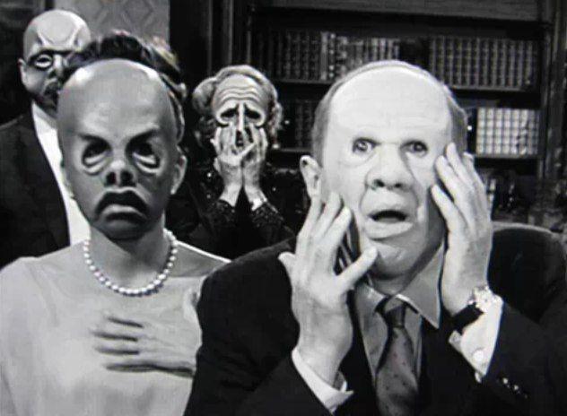 "Image result for Twilight Zone ""The mask"""