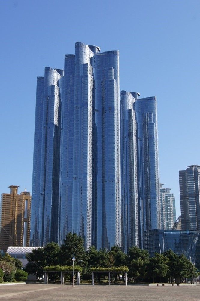 10 Tallest Apartment Buildings In The World Zenith Towers Busan South Korea