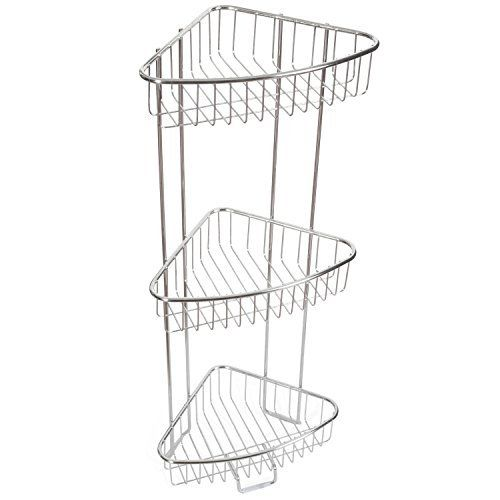 2 Pack of 6 Pocket Shower Organizer - Quick Drying Mesh Material
