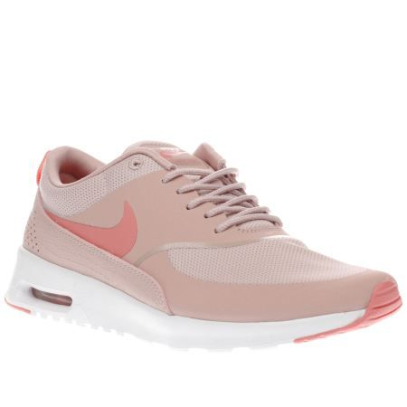 womens nike pale pink air max thea trainers