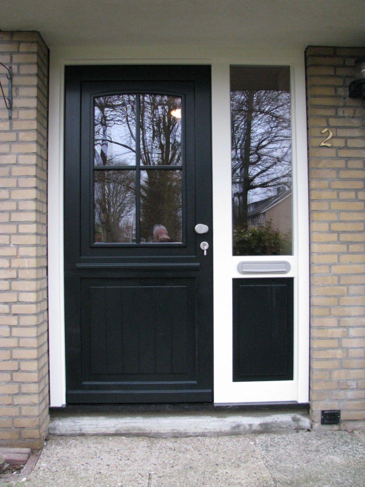 Houten deur Model Oldenzaal