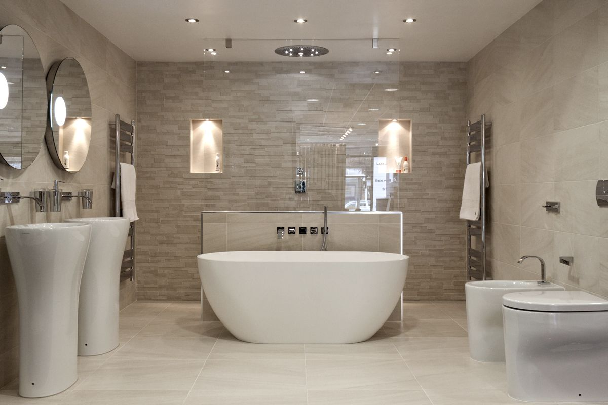 find this pin and more on ideas cheshire tile and bathroom - Tiling Ideas For Bathroom