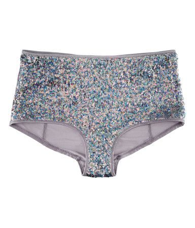c0a9b29975d H & M Sequin Hotpants Underwear | Love these! | Sparkle in 2019 ...