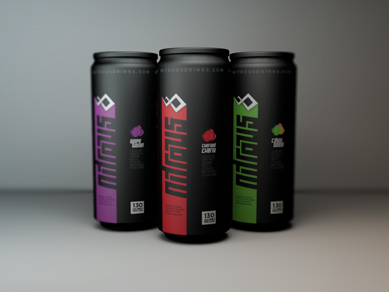 Nitrous Packaging Energy Drinks Packaging Drinks Design Drinks Packaging Design