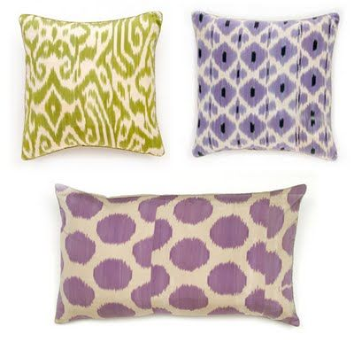 Madeline Weinrib Pillows Pillows Ikat Pillows Throw Pillows