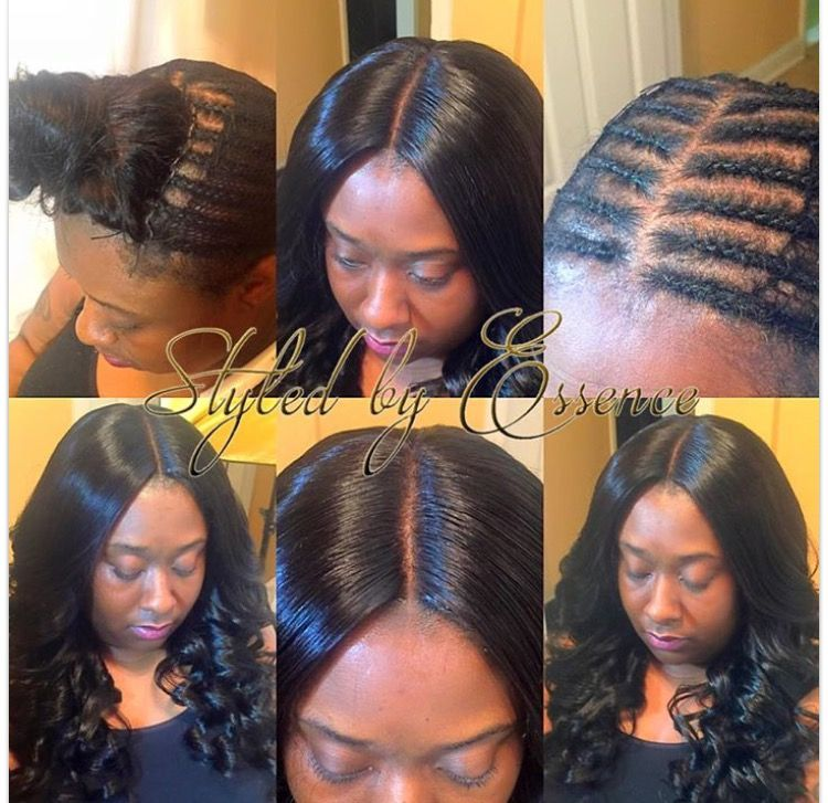 Full Weave And Full Lace Closure Simple Install Hair Styles