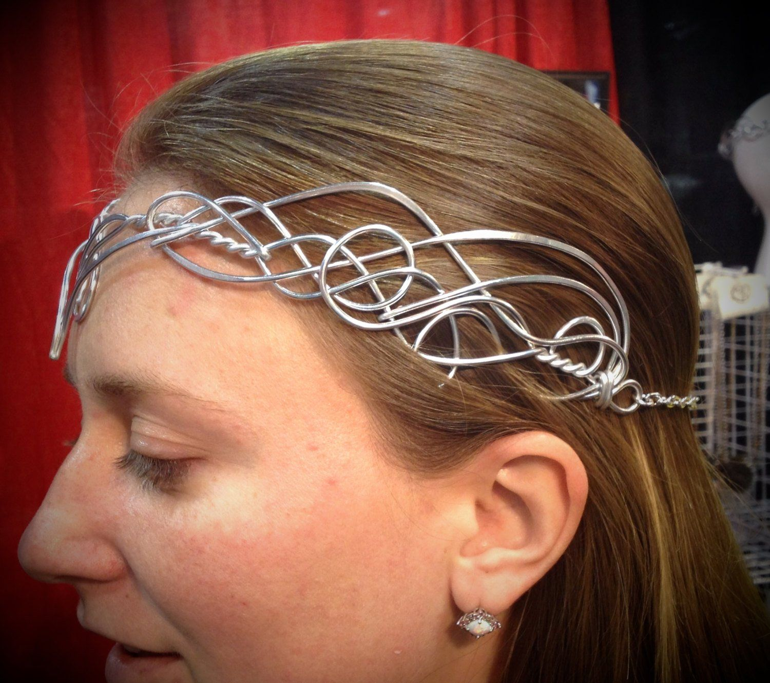 Elven Circlet Varda Celtic Hand Wire Wrapped Choose Your Own