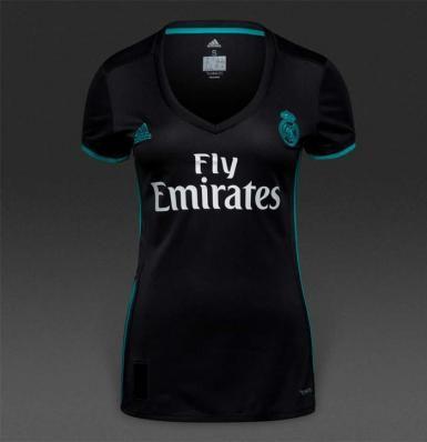 9d338a1d93a Jersey Baju Bola Real Madrid Away Ladies Wanita Cewek 17 18 Grade ...