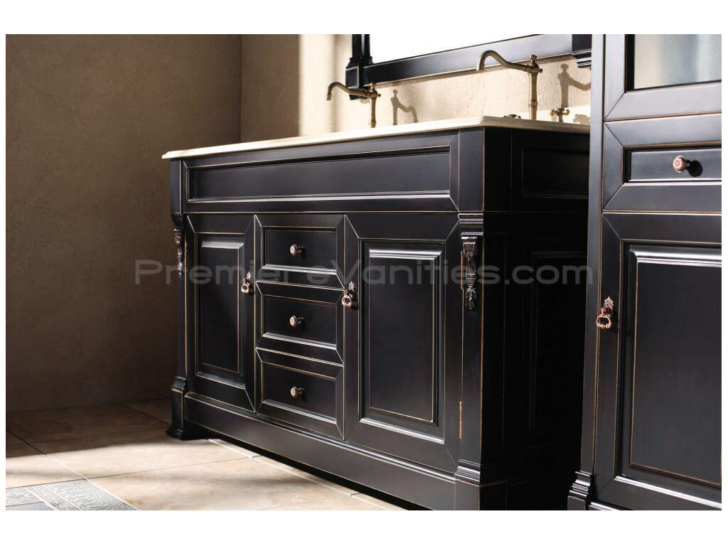 dresser sink | ... » 60 Inch Bathroom Vanity Cabinets Double Sink ...