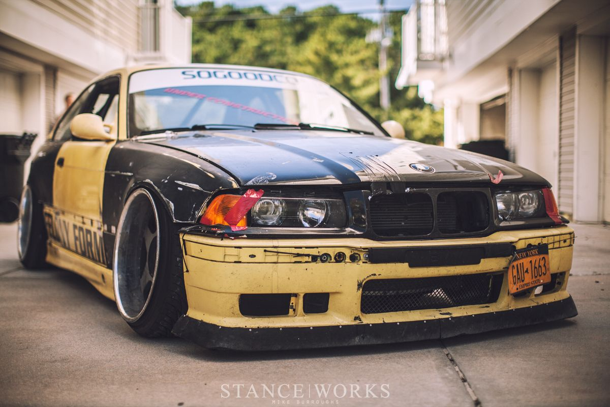 hight resolution of widebody e36 drift car missile