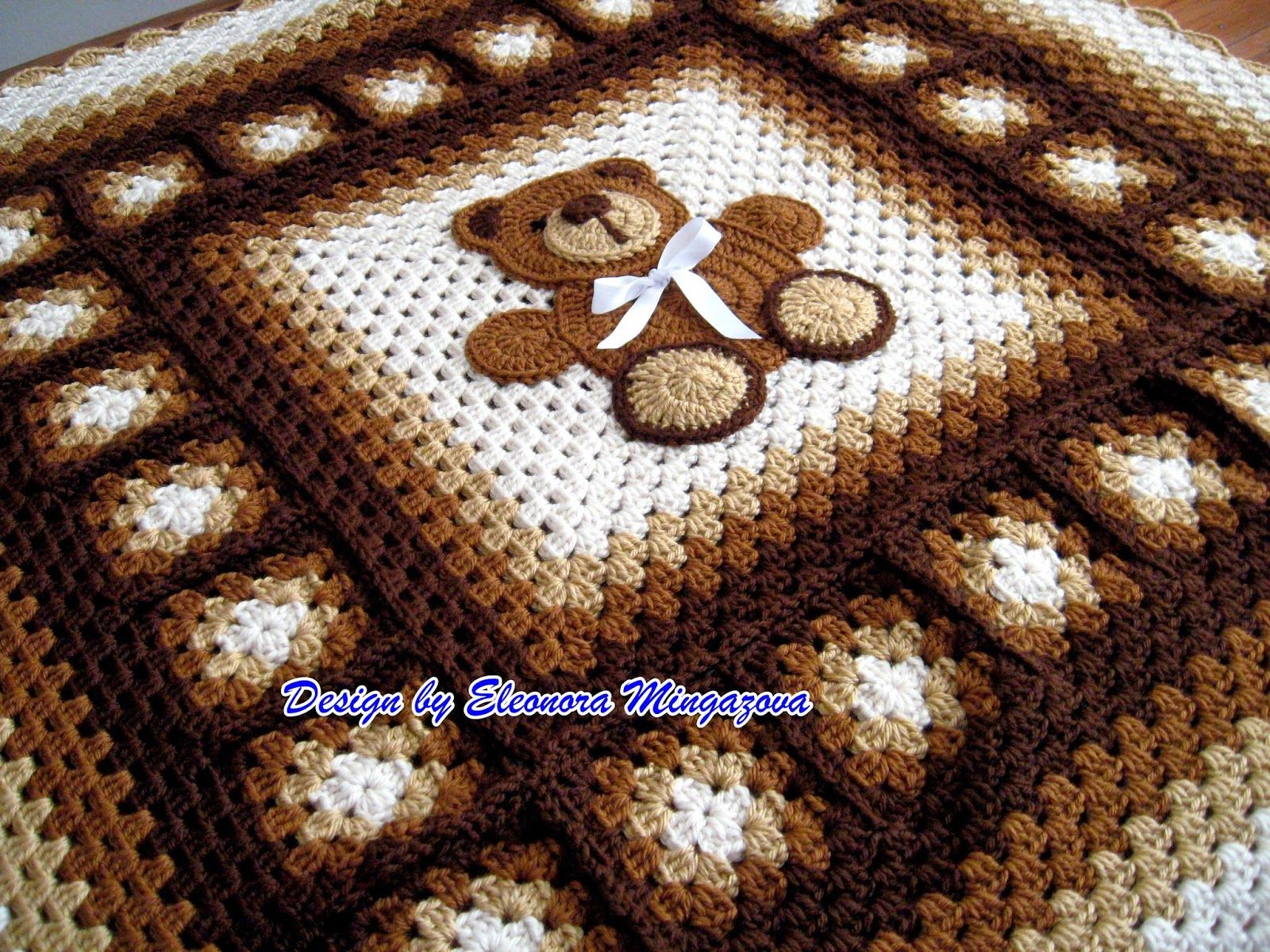 Love crochet teddy bear blanket 39 by 39 crochet afghans pdf adorable crochet pattern to make your own crochet teddy bear blanket afghan throw bankloansurffo Images
