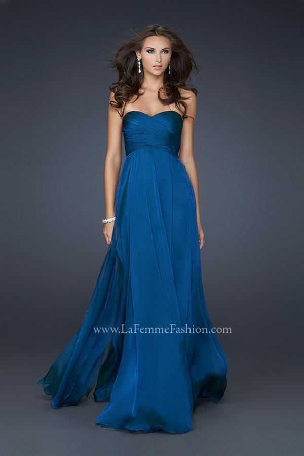 Vestidos de fiesta largos de color azul