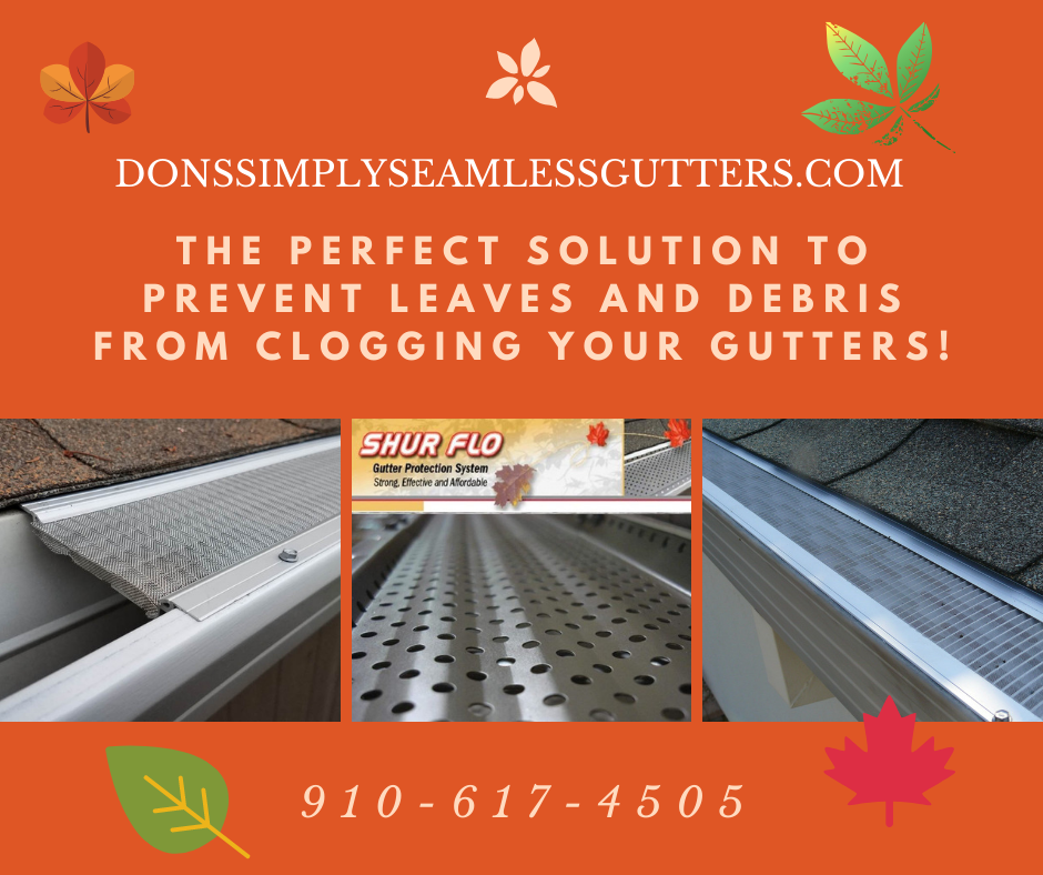 When Gutters Become Clogged By Leaves Pine Needles And Debris Your Gutter Will Overflow Causing Damage T Gutters Gutter Protection Seamless Gutters