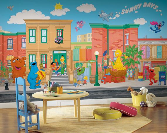 Awesome An Entire Sesame Street Wall, Perfect Theme For My Boys. Sesame Street XL 9